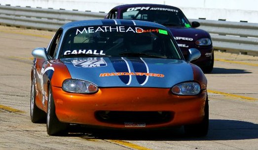 Ted Cahall Spec Miata - new paint job
